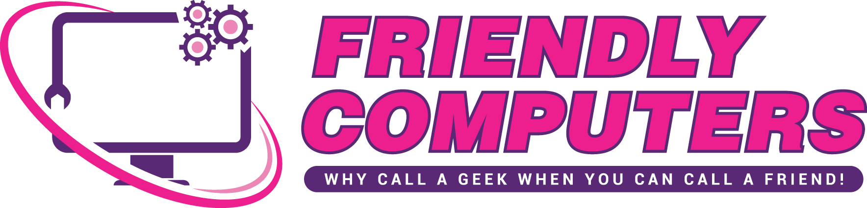 Friendly Computers Spokane Logo